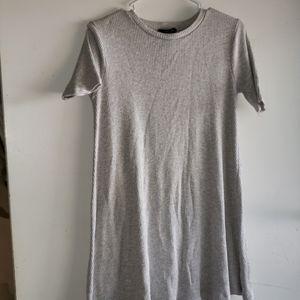Light Heathered Grey - •F21• | Ribbed Dress